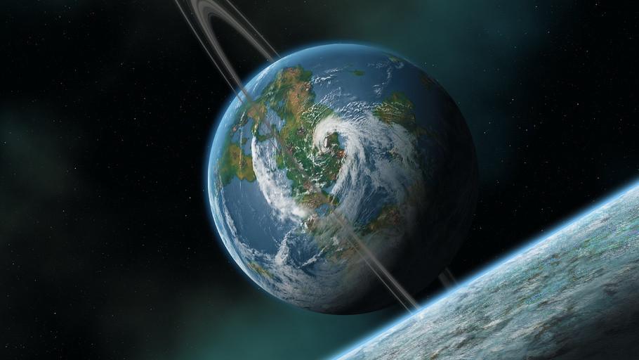 Ученые предсказали появление колец вокруг Земли