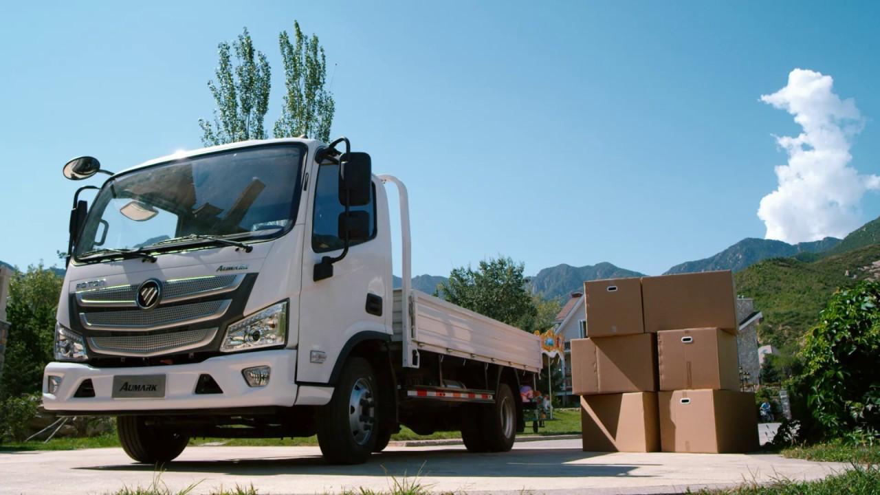 Foton представит в Российской Федерации новый грузовой автомобиль Aumark S