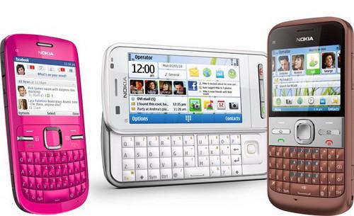Вскором времени нокиа выпустит еще, как минимум, два мобильных телефона
