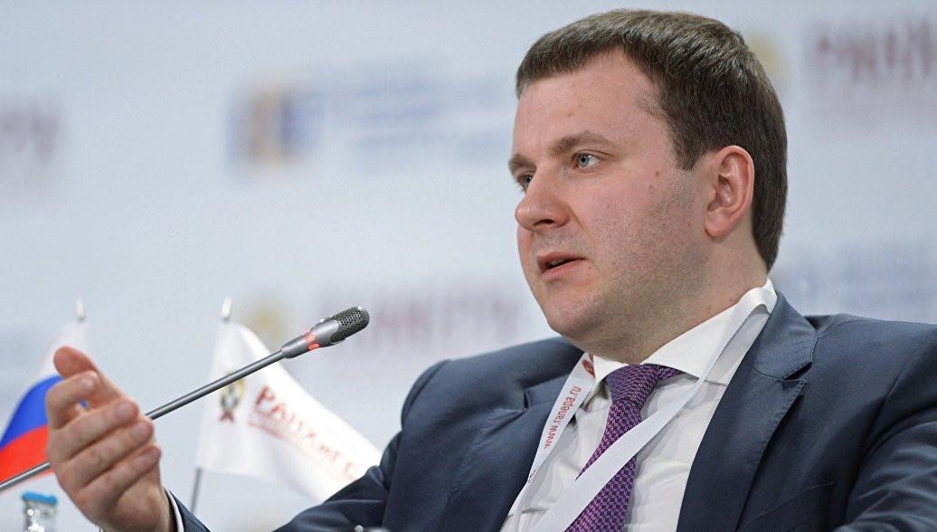 Орешкин не ждет серьезных колебаний курса рубля совсем скоро