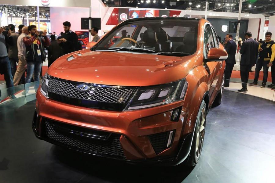 Кросс-купе Mahindra XUV Aero отправят всерийное производство