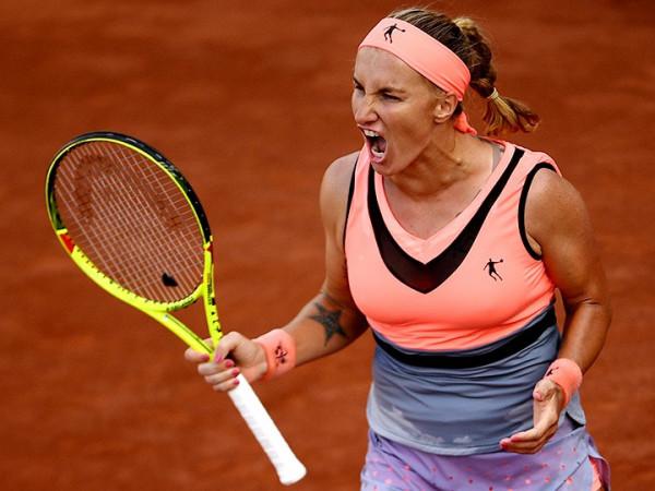 Светлана Кузнецова на Roland Garros пробилась в третий круг