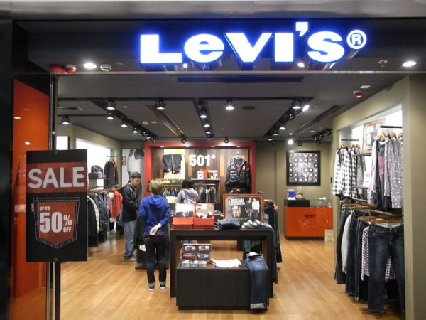 В Москве открыли pop up-магазин Levi's