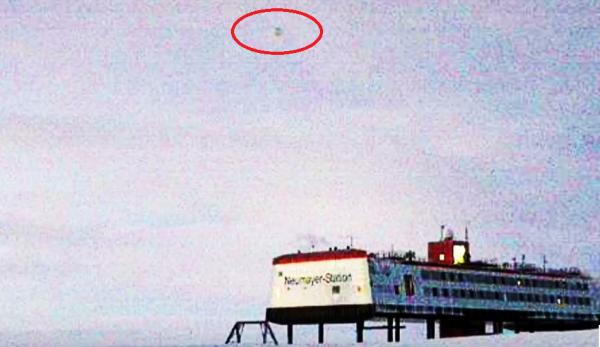 НЛО над антарктической станцией Neumayer III оказался самолетом