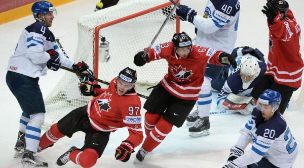 Сборная Канады по хоккею сыграет в матчах Евротура
