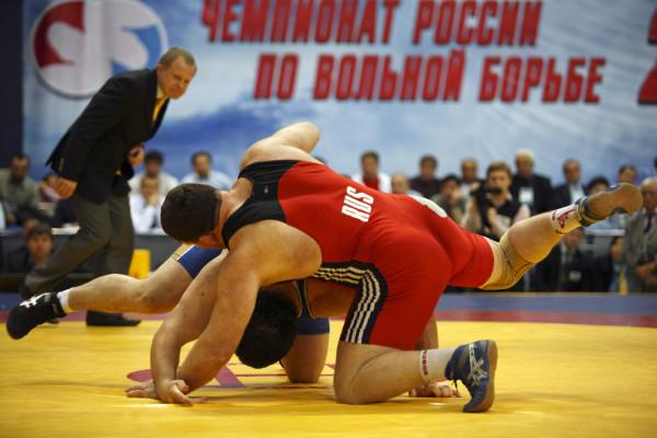 В Назрани болельщики подрались на чемпионате России по вольной борьбе