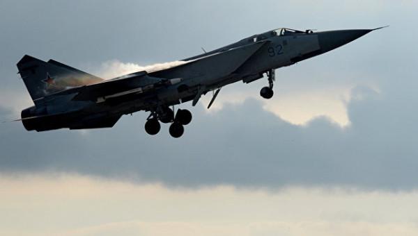 ВКС РФ за неделю 14 раз поднимали истребители на перехват самолётов-разведчиков