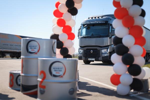 Грузовые автомобили Renault Trucks удивили своей экономичностью