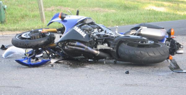 Под Челябинском после ДТП умер пассажир мотоцикла