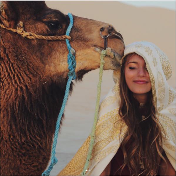 Регина Тодоренко стала женой верблюда