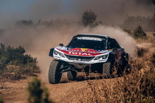 Peugeot представила новый раллийный болид 3008 DKR Maxi