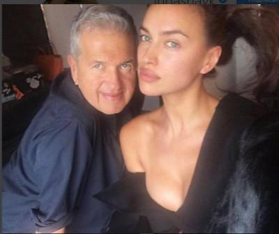 Ирина Шейк обнажилась ради съемки с известным фотографом
