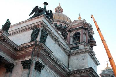 На реставрацию Исаакиевского собора будет потрачено более 100 миллионов рублей