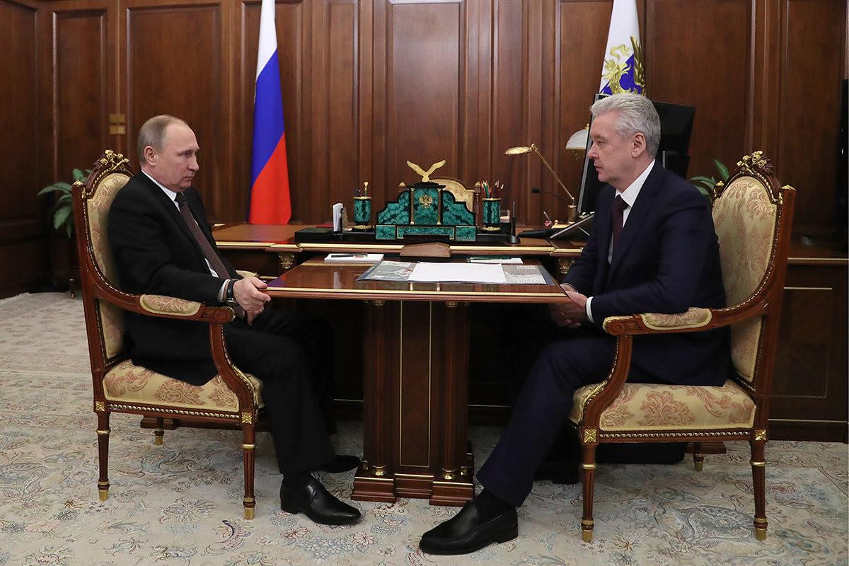 Владимир Путин подписал закон ореновации в столице