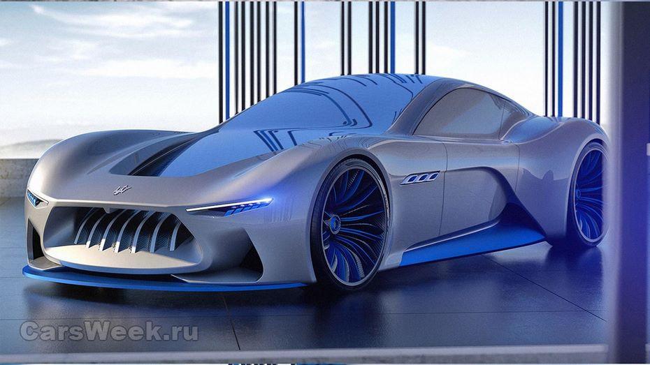 Представлен новый концептуальный автомобиль спортивного Мазерати Genesi