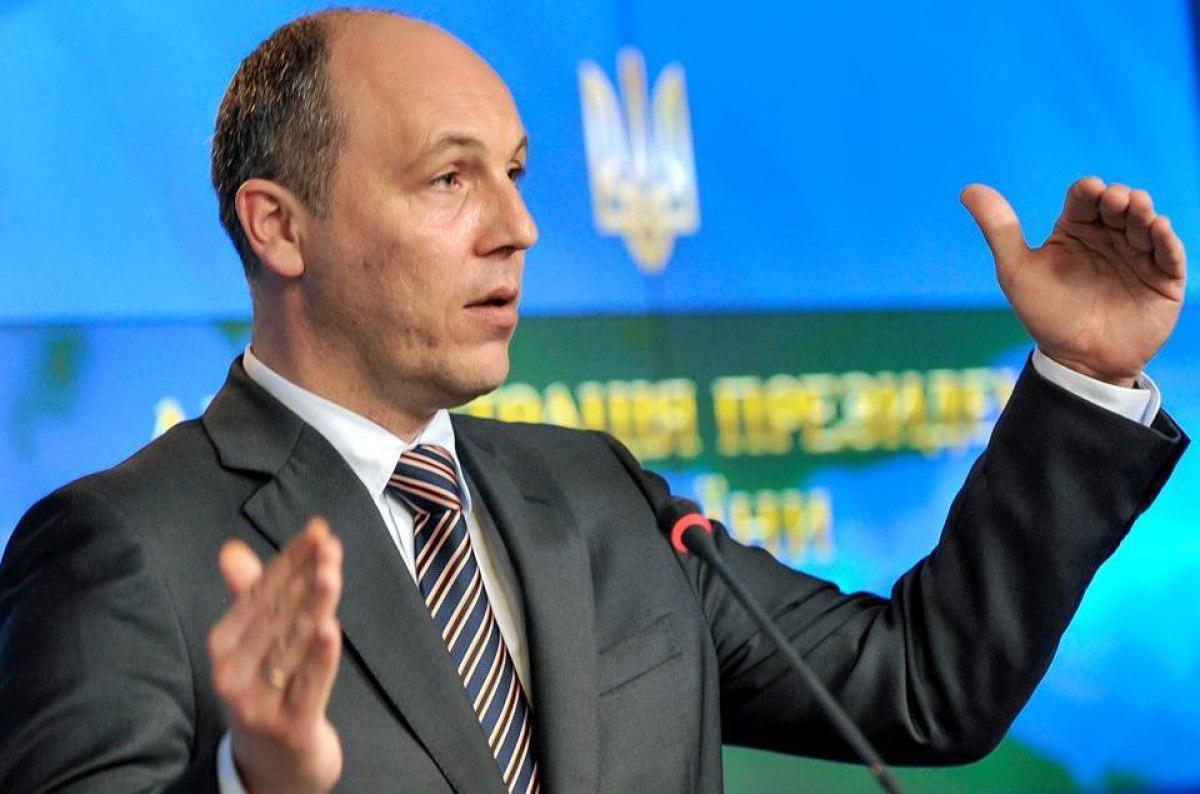 Парубий выразил убеждение, что военные моряки возвратят аннексированный Крым Украине