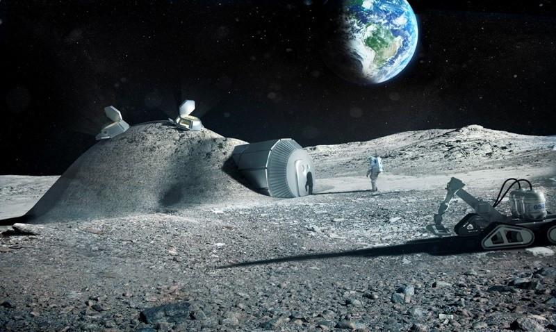 НаЛуне уфологи обнаружили город инопланетян