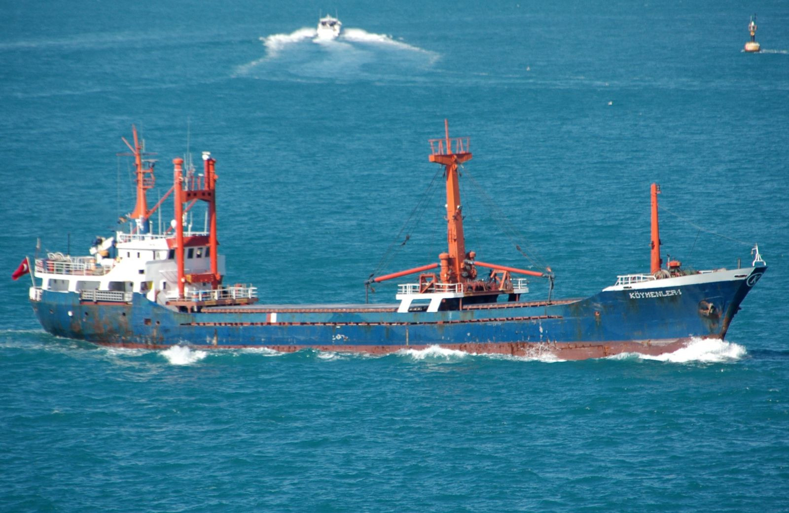 Турецкий МИД раскритиковал греков заатаку насухогруз вЭгейском море