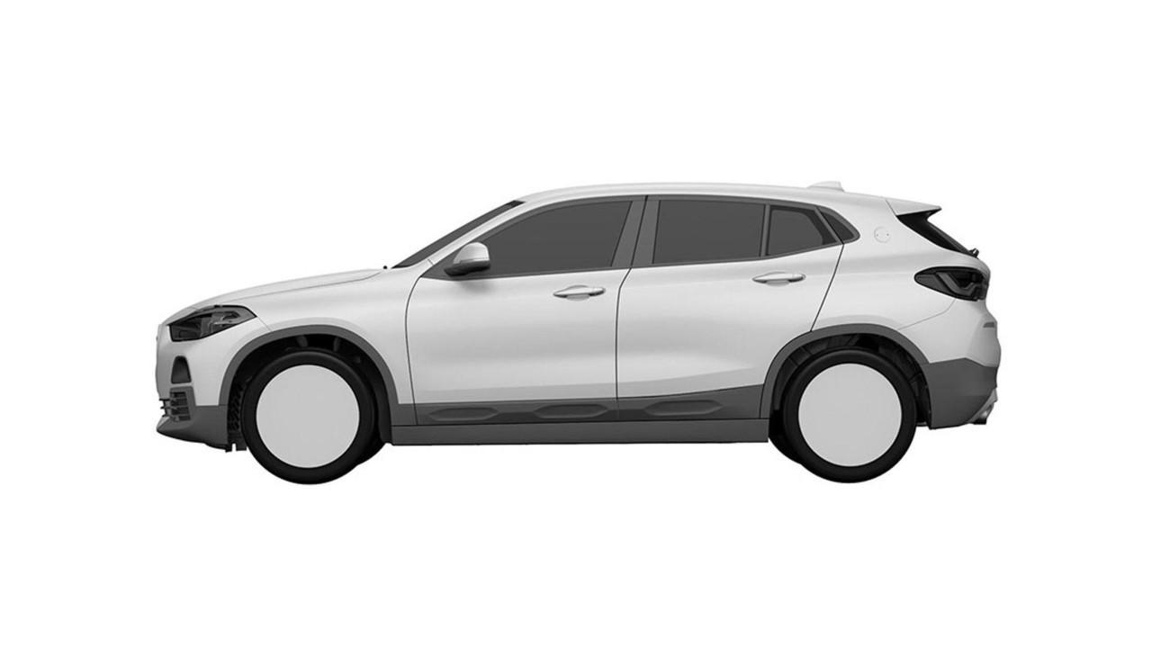Дизайн нового БМВ X2 всерийной версии рассекретили патентные изображения