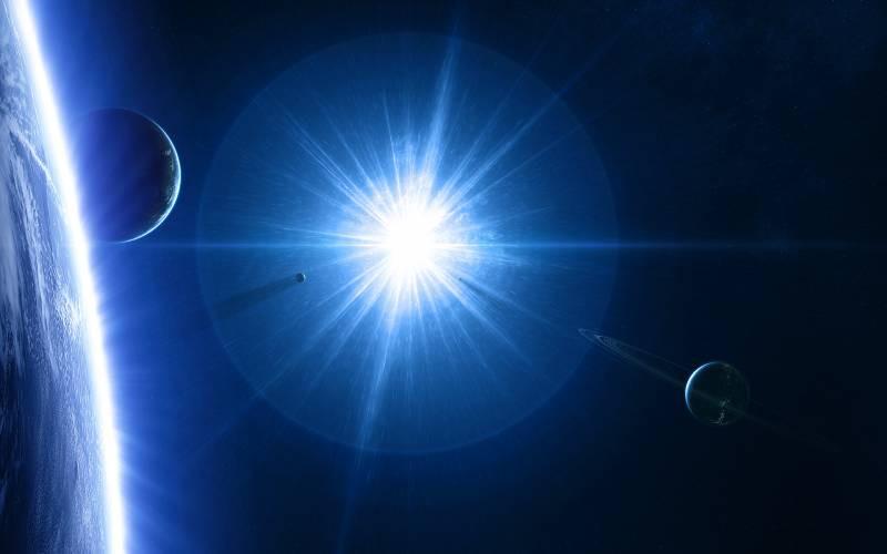 Найдена звезда, превышающая размеры Солнца в500 раз