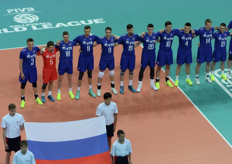 Франция вышла вфинал Мировой лиги