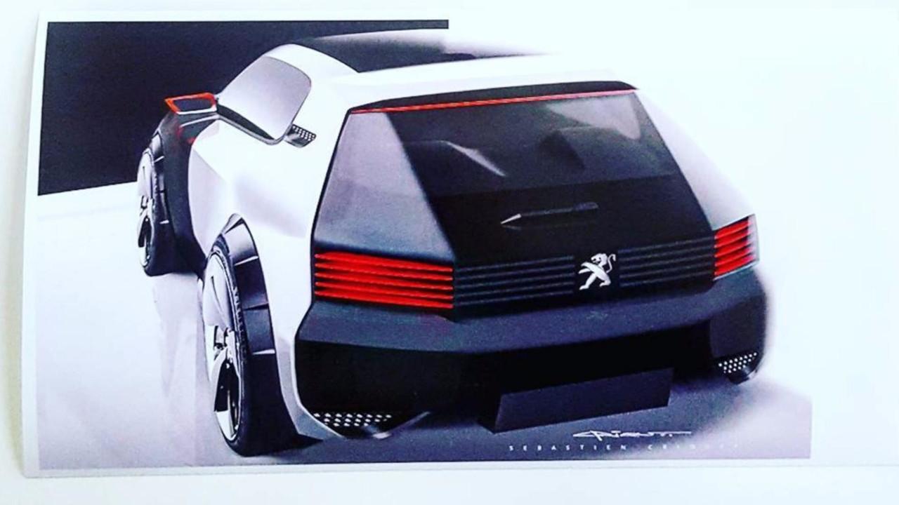 «Испытываю ностальгию»: Дизайнер Peugeot наэскизах «возродил» хэтчбэк 205 GTI