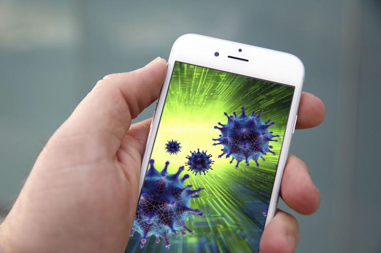 Вглобальной сети  юзеры  проинформировали о  появлении вируса наiPhone