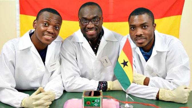 Гана удачно  запустила свой 1-ый  спутник вкосмос