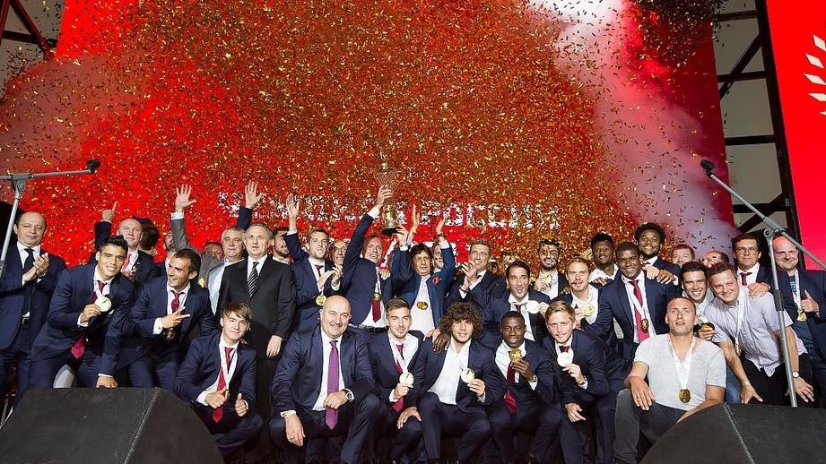 «Спартаку» вручили золотые медали чемпионата Российской Федерации
