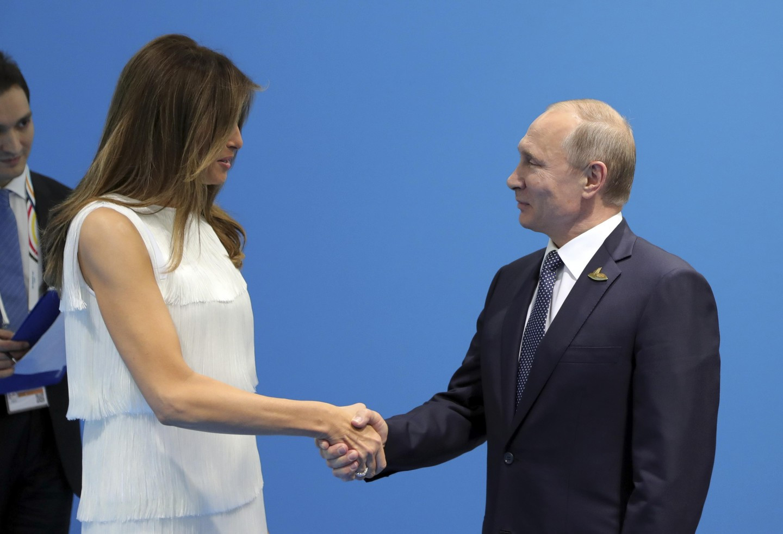Песков: Инициаторами встречи В. Путина  иТрампа были обе стороны
