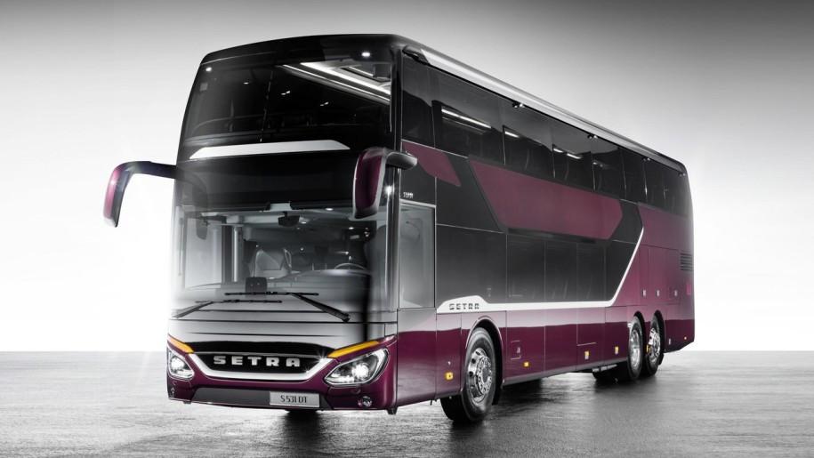 Daimler выпустил двухэтажный автобус саэродинамикой хот-хетча