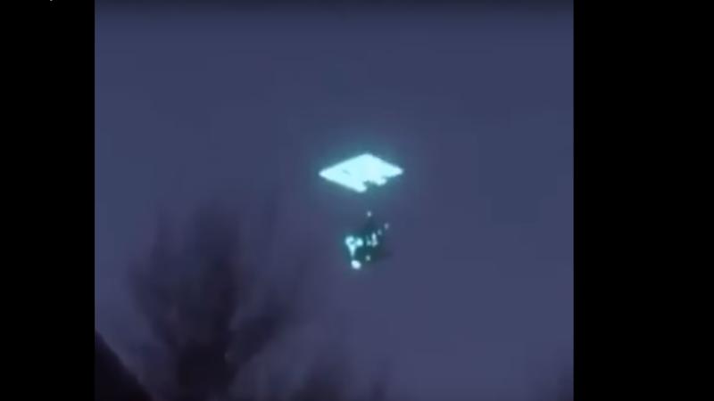 В Якутии запечатлели исчезающий в портале НЛО