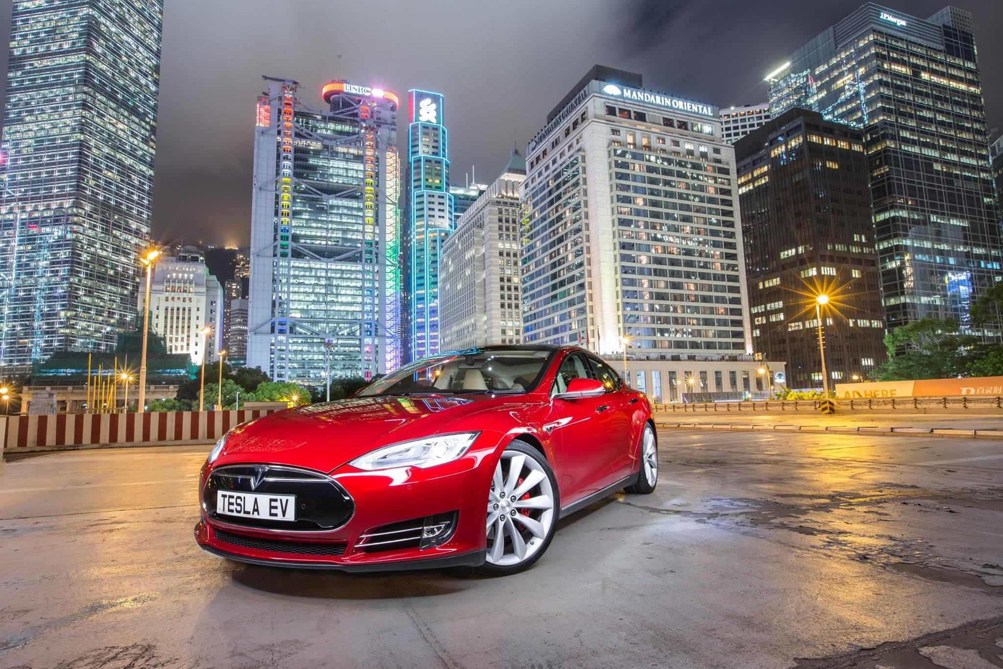 Продажи американской компании Tesla вГонконге уменьшились донуля