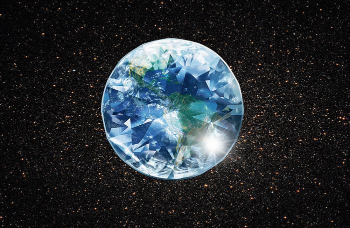 Ученые занялись поиском воды на«алмазных» планетах