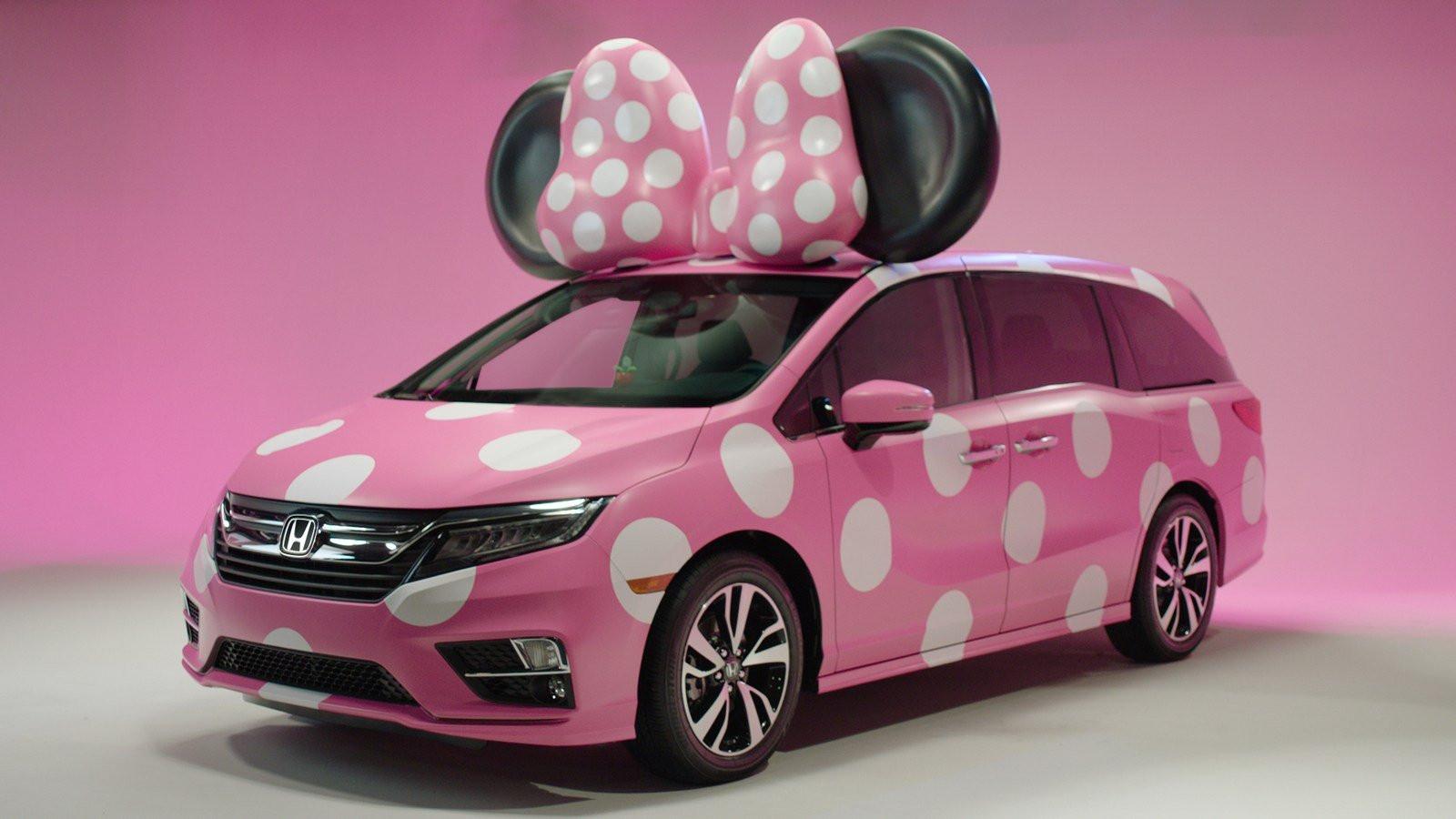 Хонда иDisney создали минивэн Odyssey для Минни Маус