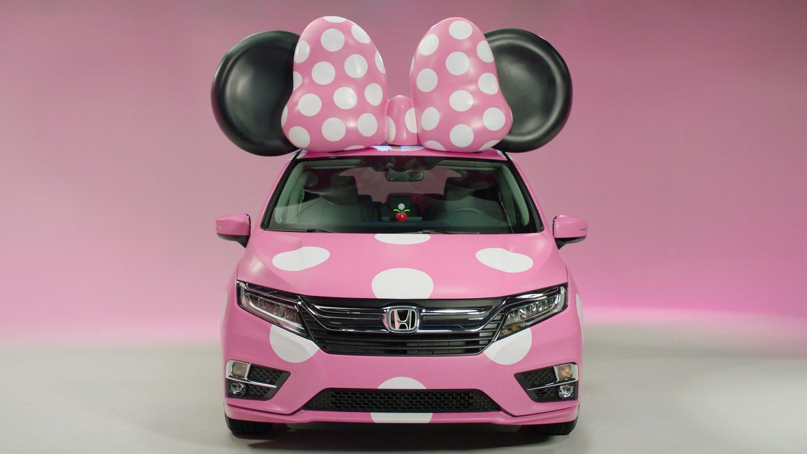 Машина для Минни: Disney и Honda создали уникальный минивен