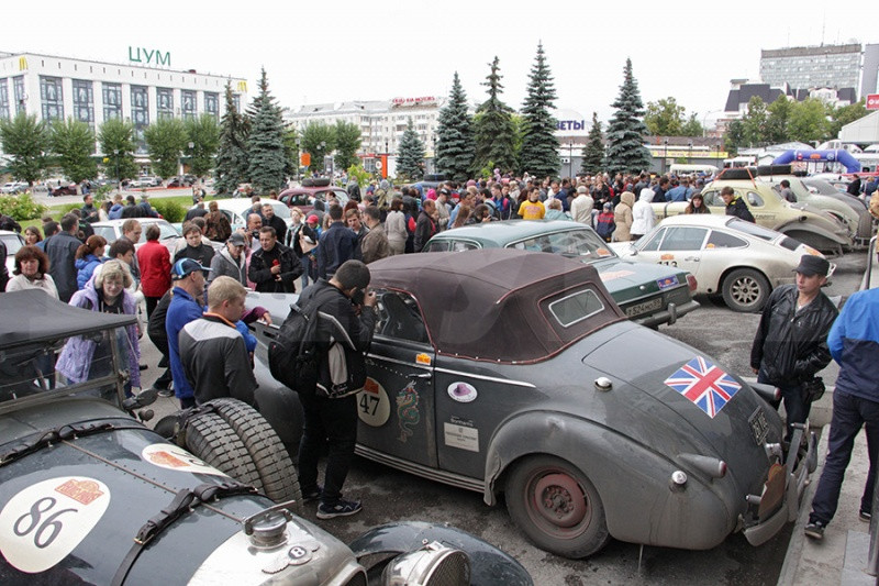 Через Пермский край проедут участники ретро-ралли «Париж-Пекин»