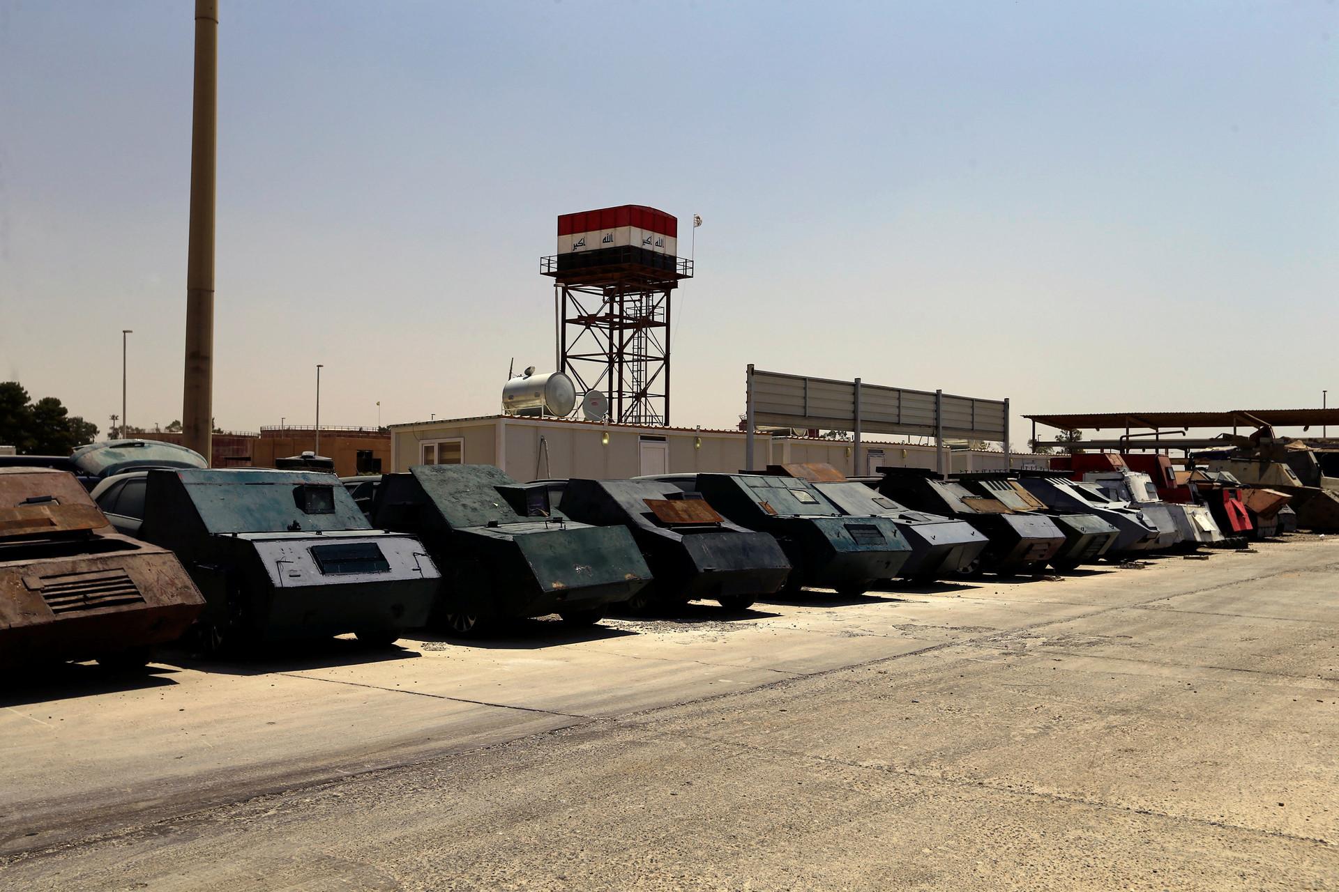 ИГ: боевики создали автомобильный парк для смертников встиле «Безумного Ма ...