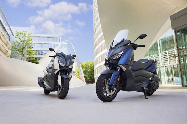 Yamaha рассказала о новинке X-MAX 400