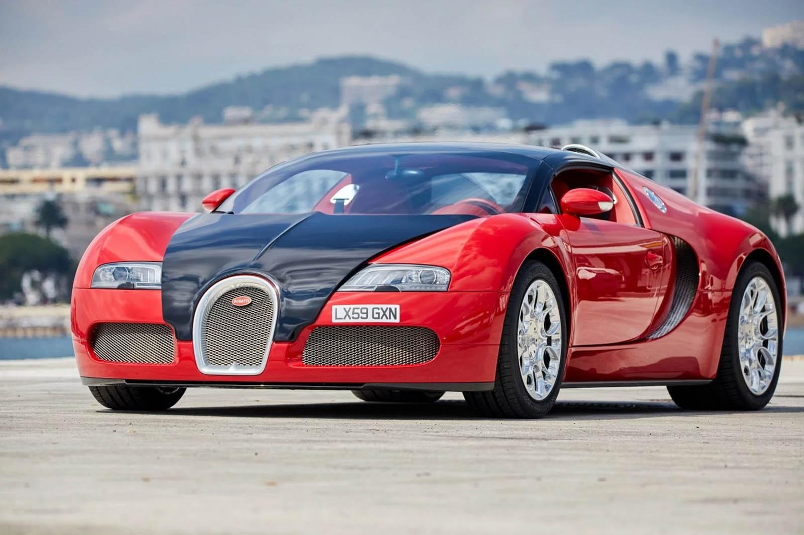 Выставили на реализацию Бугатти Veyron 2009 года за $1,7 млн.