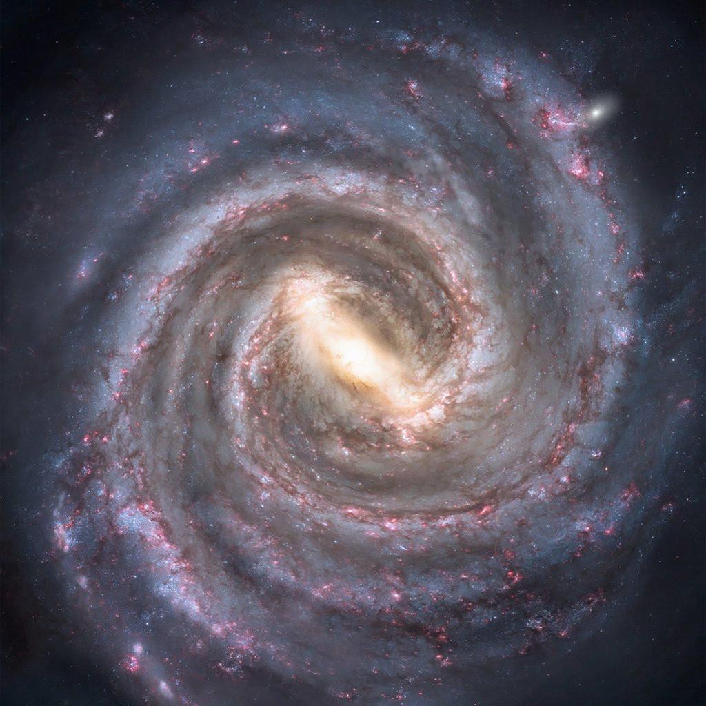 Ученые: Млеяный путь напоминает грецкий орех в скорлупе