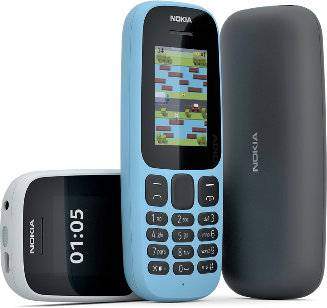Компания Nokia официально представила Nokia 105 иNokia 130