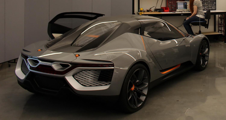 Хонда запатентовала салон спорткара спрямоугольным рулем