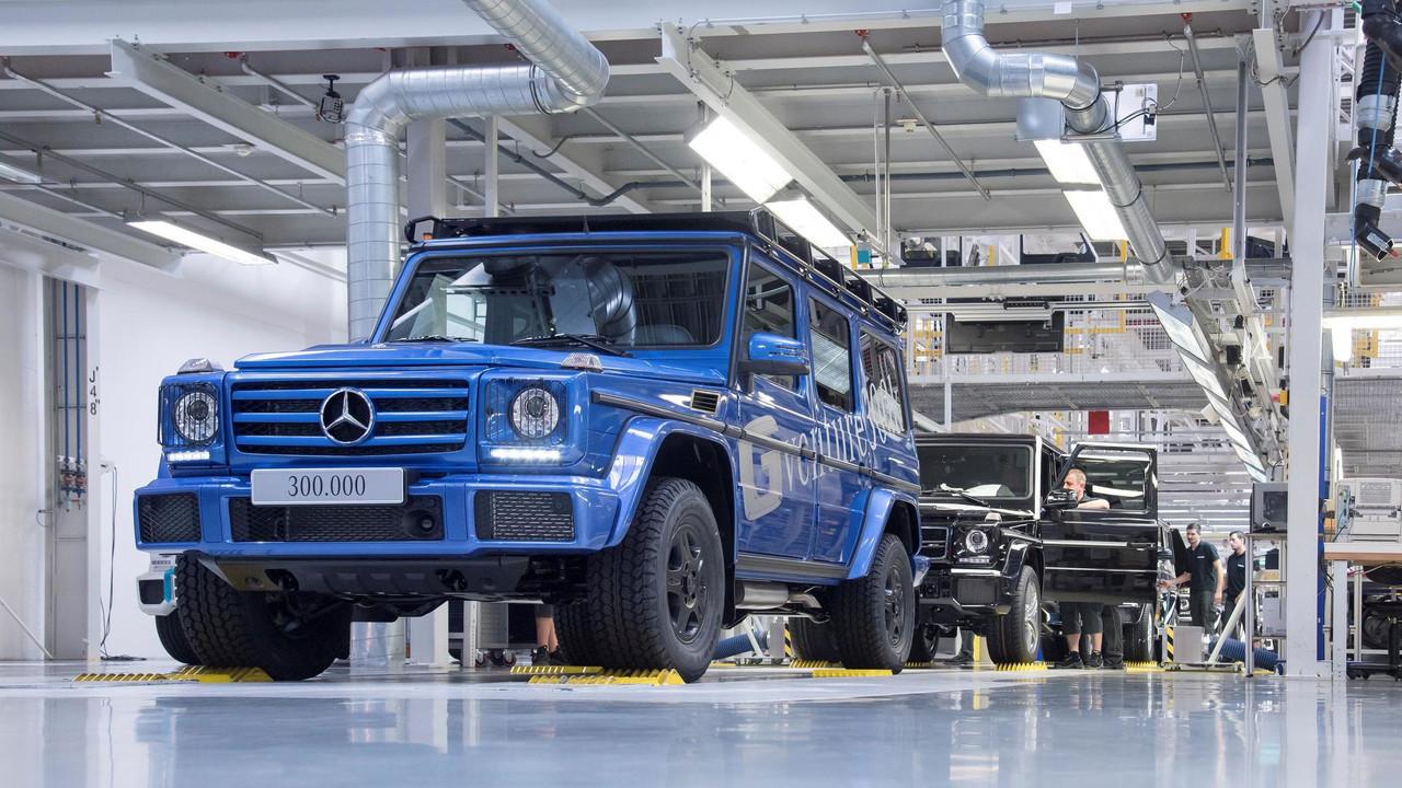 Mercedes G-Class за38 лет выпустили 300 000 штук