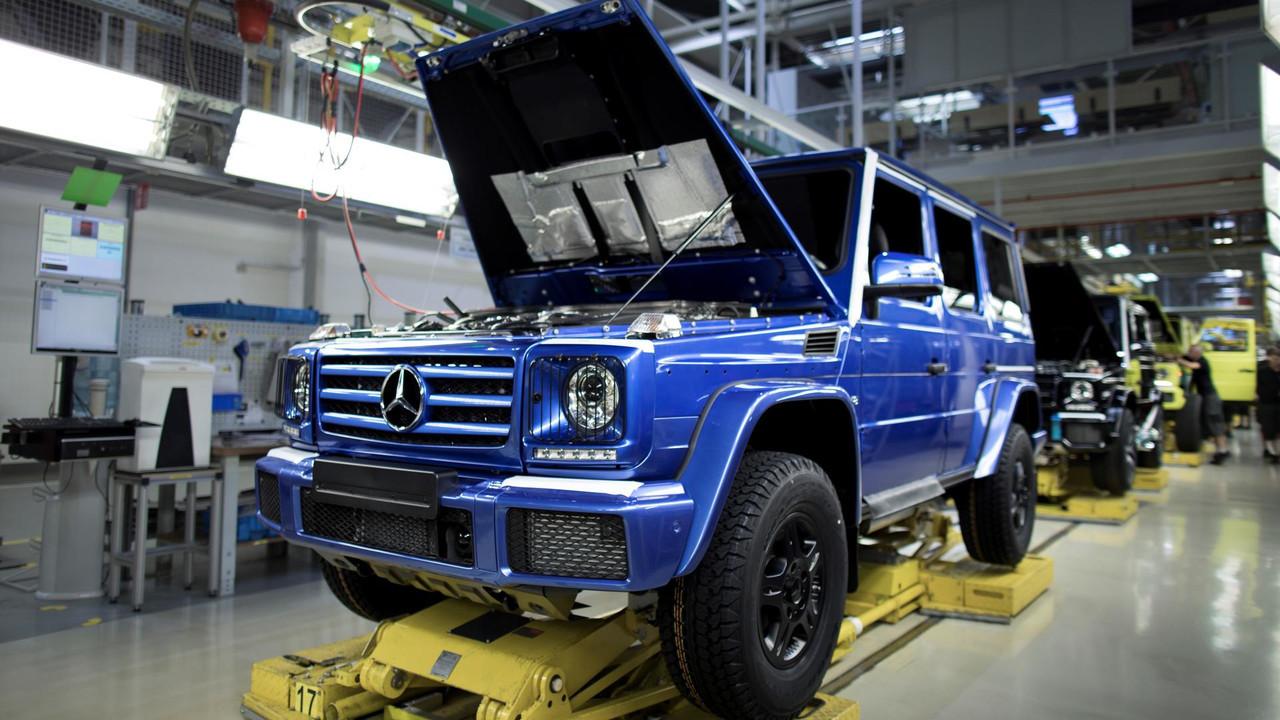 Выпущен 300-тысячный вседорожный автомобиль Мерседес-Бенс G-Class