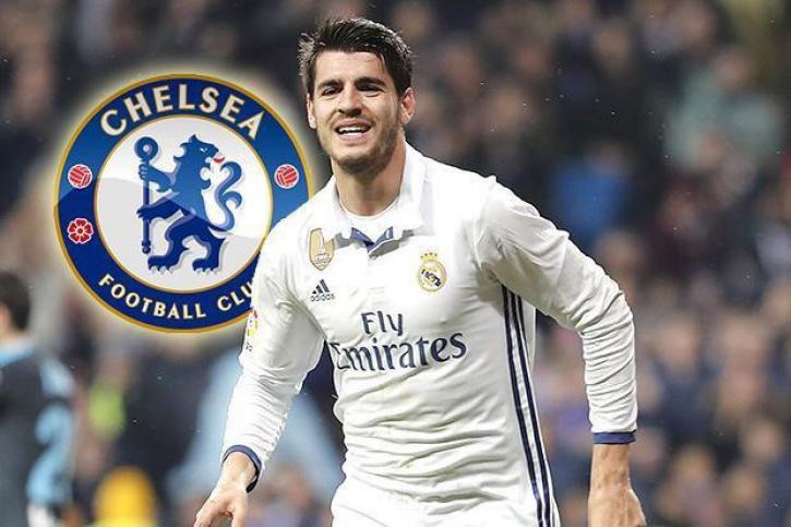 «Челси» договорился с«Реалом» отрансфере нападающего Альваро Мораты