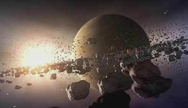 Работники NASA увидели проблеск старинного космического тела впоясе Койпера