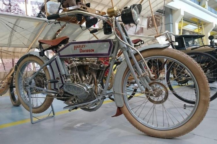 «Харли-Дэвидсон»: Вмузее УГМК возникла столетняя легенда