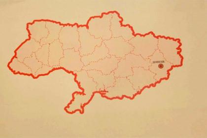 Печатное издание Washington Post опубликовало карту Украины без Крыма