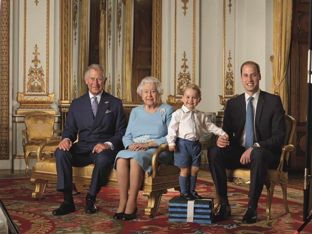 Принц Джордж отмечает четвертый день рождения